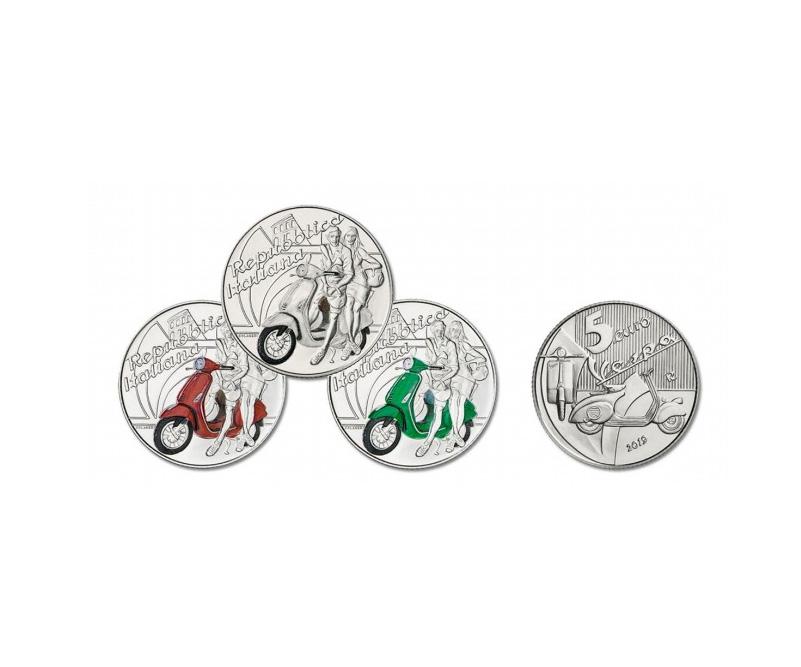 Bosatta monete Vespa